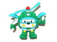 Джибитсы Китай 105-07 Для мальчиков Robocar Poli, фото 1