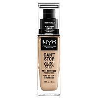 NYX Тональная основа Can't Stop Won't Stop №6,3 (warm vanill) 30мл