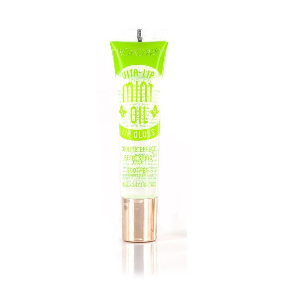 Освежающий бальзам для губ с маслом мяты Broadway Vita-Lip Clear Lip Gloss Mint Oil