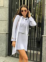 Модное спортивное платье с капюшоном /разные цвета, 42-46, ft-1040/, фото 2