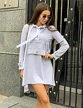 Модное спортивное платье с капюшоном /разные цвета, 42-46, ft-1040/, фото 3