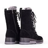 Високі жіночі черевики Allshoes 148146 36 23 см, фото 3