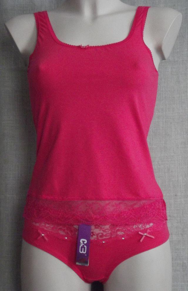 Топ комплект женский стрейч (трусики + маечка) С+3 - Торговый дом «Коттаун» в Днепре