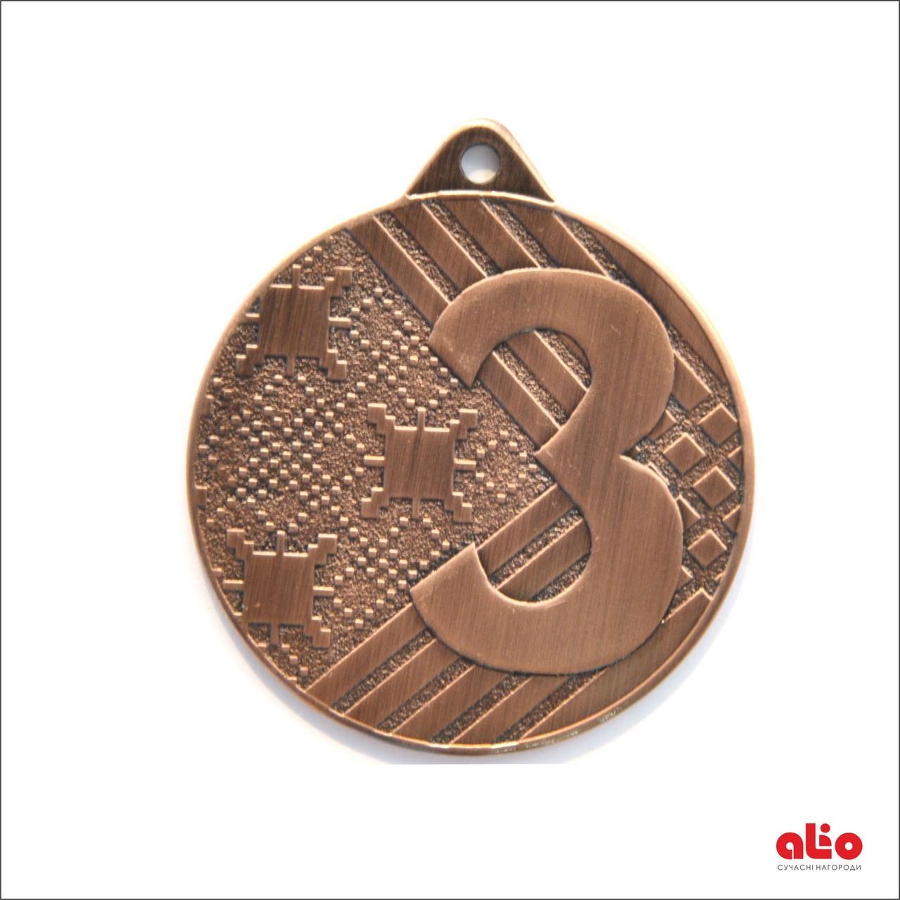 Медаль Д92 бронза 50 мм