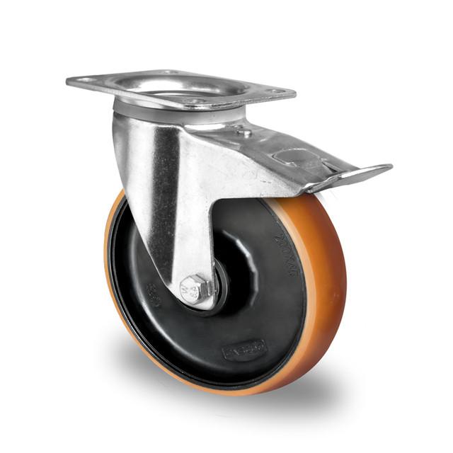 Колеса с кронштейнами (поворотные/поворотные с тормозом/неповоротные)