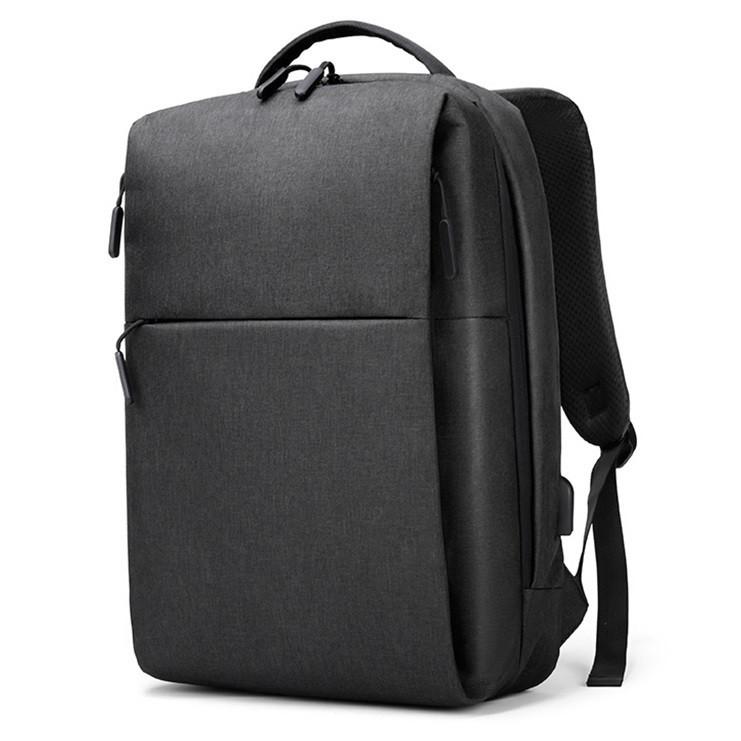 """Городской рюкзак Arctic Hunter 1701 с USB портом, карманом для ноутбука до 15,6"""" и жестким каркасом, 20л"""