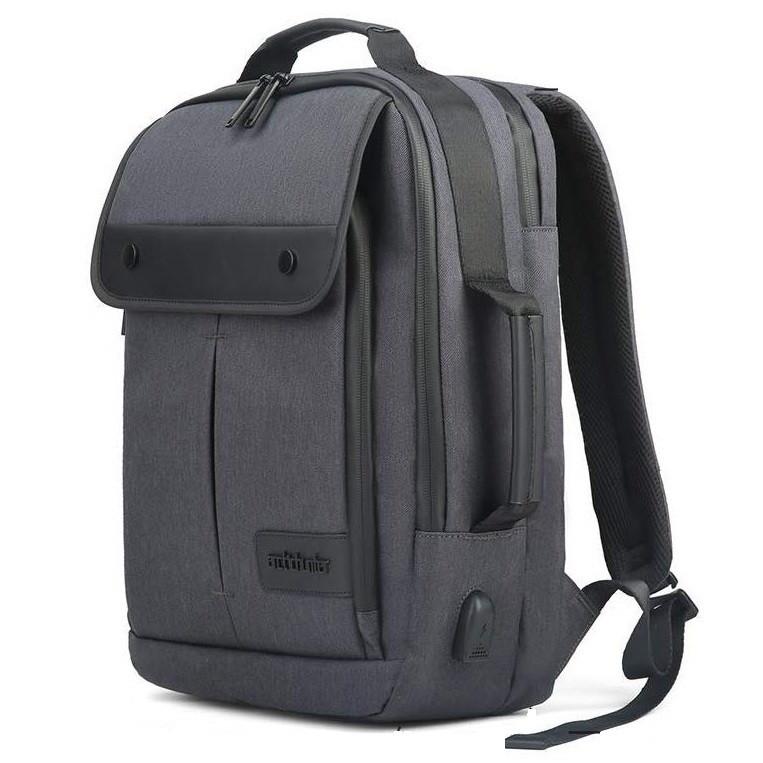 Компактный городской портфель-сумка-рюкзак-брифкейс 4в1 Arctic Hunter B00325 с USB портом, 20л