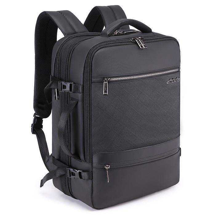 Дорожный рюкзак чемодан Arctic Hunter B00350, с тремя отделениями, RFID защитой и расширителем, 32л