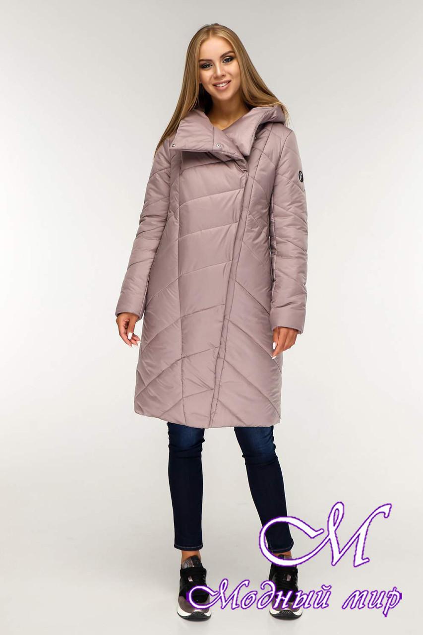 Женская зимняя куртка (р. 44-58) арт. 1143 Тон 2