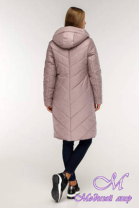 Женская зимняя куртка (р. 44-58) арт. 1143 Тон 2, фото 2