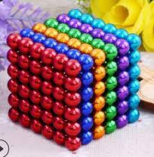 Неокуб (NeoCube) в боксе 216 шариков цветной, фото 2