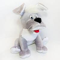 Мягкая игрушка Собака Тузик мини 29см серая (211)