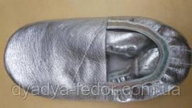 Чешки Vlad&K Україна 1144 Для дівчаток Сріблястий розміри 15_22 см