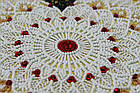 Набор для вышивки бисером Кружевная вязь (27 х 27 см) Абрис Арт AB-694, фото 4