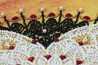 Набор для вышивки бисером Кружевная вязь (27 х 27 см) Абрис Арт AB-694, фото 6
