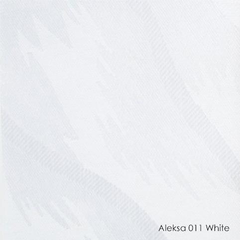 Вертикальные жалюзи Aleksa-011 white
