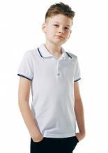 Детское поло для мальчика Школьная форма для мальчиков SMIL Украина 114539