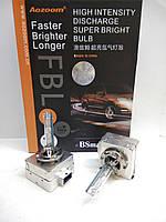 Комплект ксеноновых ламп Aozoom FBL, +50%, D1S, 5500K, 35W