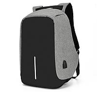 Рюкзак для ноутбука, учебы. Городской. Антивор. USB для зарядки. Kод 162