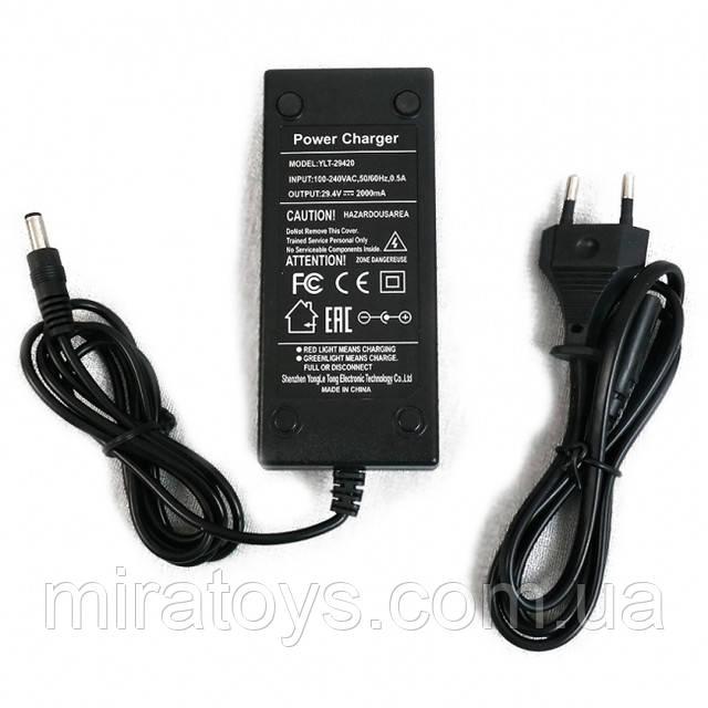Зарядний пристрій для електросамокатів 29,4 в, 2а, 5521 (ch-295521)