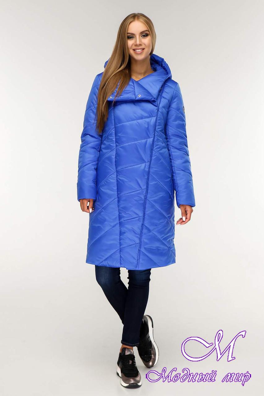Теплая женская зимняя куртка (р. 44-58) арт. 1143 Тон 13
