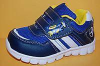 Детские кроссовки повседневные Том.М Китай 0596 для мальчиков синий размеры 21_26