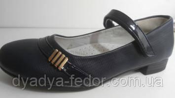 Детские Туфли Китай 111 Для девочек Синій розміри 31_36