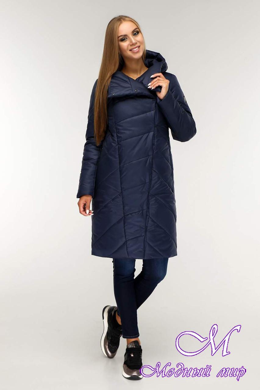 Женская теплая зимняя куртка (р. 44-58) арт. 1143 Тон 18