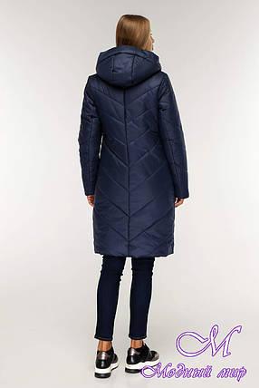 Женская теплая зимняя куртка (р. 44-58) арт. 1143 Тон 18, фото 2