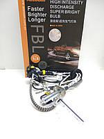 Комплект ксеноновых ламп Aozoom FBL, +50%, H1, 5500K, 35W, AMP, фото 1