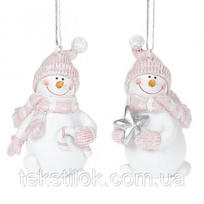 Подвеска новогодняя Снеговик Новогодний декор