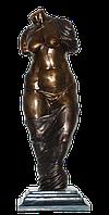 Бронзовая статуэтка женщины