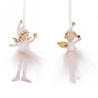 Подвеска новогодняя Девочка-ангел  2 вида  Новогодний декор