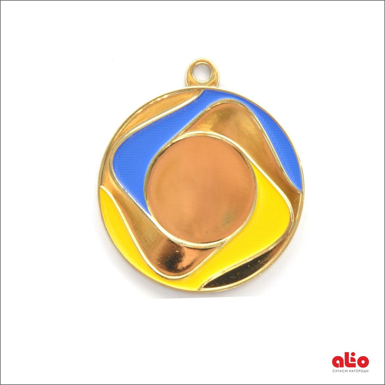 Медаль Д168 золото 50 мм