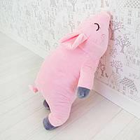Мягкая игрушка Свинка соня 43см (155)
