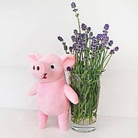 Мягкая игрушка Поросенок Пупсик 19см розовый (1951)