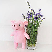 Мягкая игрушка Zolushka Поросенок Пупсик 19см розовый (1951)