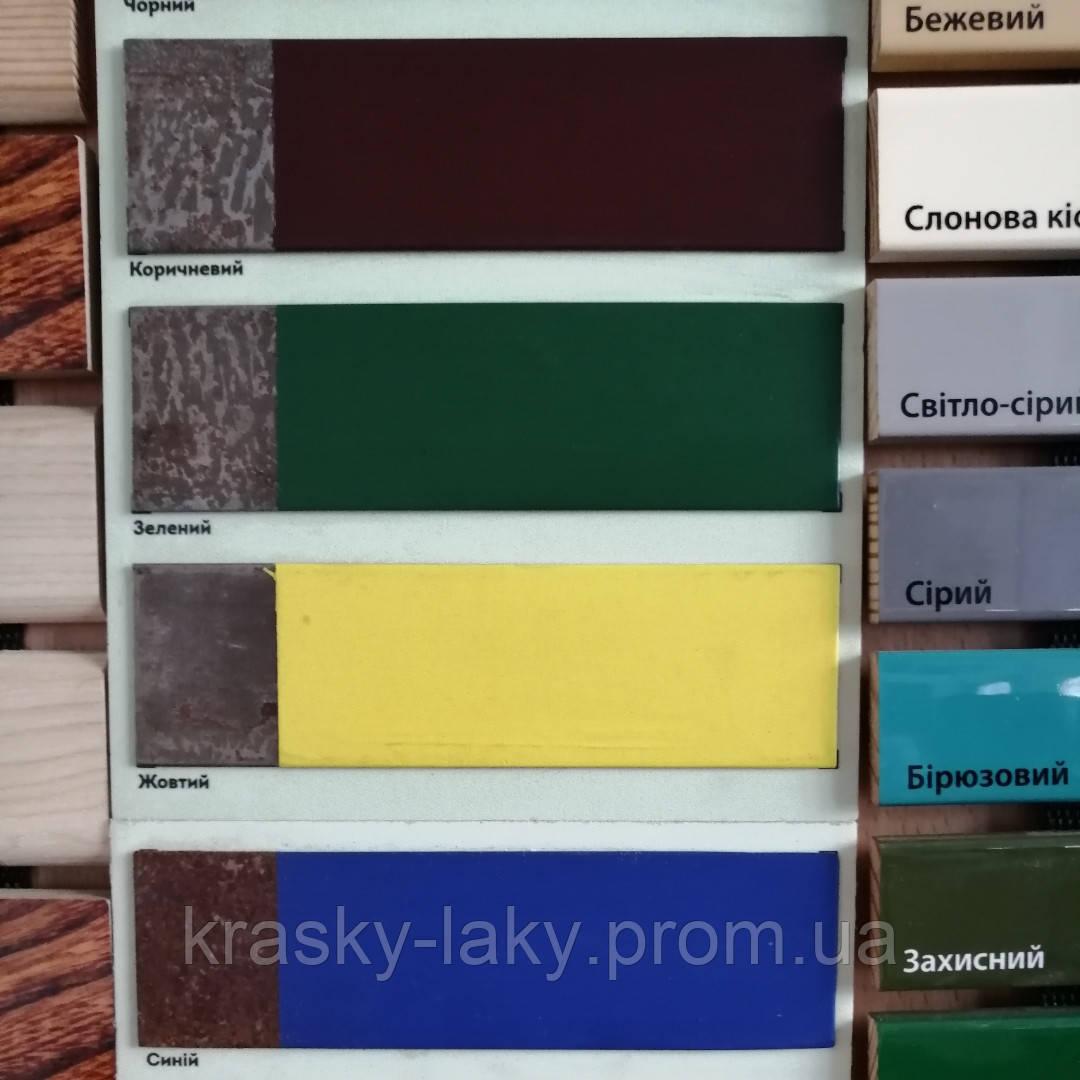 Эмаль 3 в 1 Protect Kompozit® серебро для оцинковки, стали, латуни, меди, алюминия 10кг.