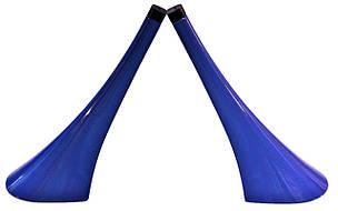 Каблук женский пластиковый 12010 синий р.3  h-12,8 см., фото 2
