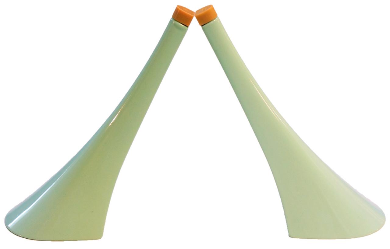 Каблук женский пластиковый 12010 мята р.3  h-12,8 см.