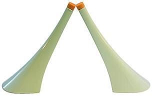 Каблук женский пластиковый 12010 мята р.3  h-12,8 см., фото 2