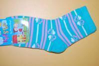 Шкарпетки KidStep Україна 814 Для дівчаток Бірюз. сердечка