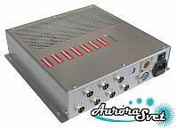 БУС-4-07-450MW блок управления четырехцветными светодиодными светильниками, кол-во драйверов - 7