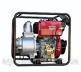Мотопомпа дизельная WMCGZ100-30