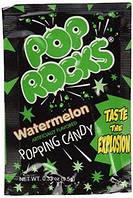 Шипучая карамель Pop Rocks Watermelon