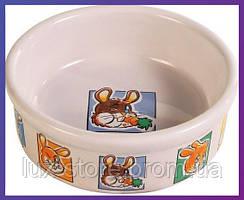 Trixie TX-62953 миска для кролика керамическая