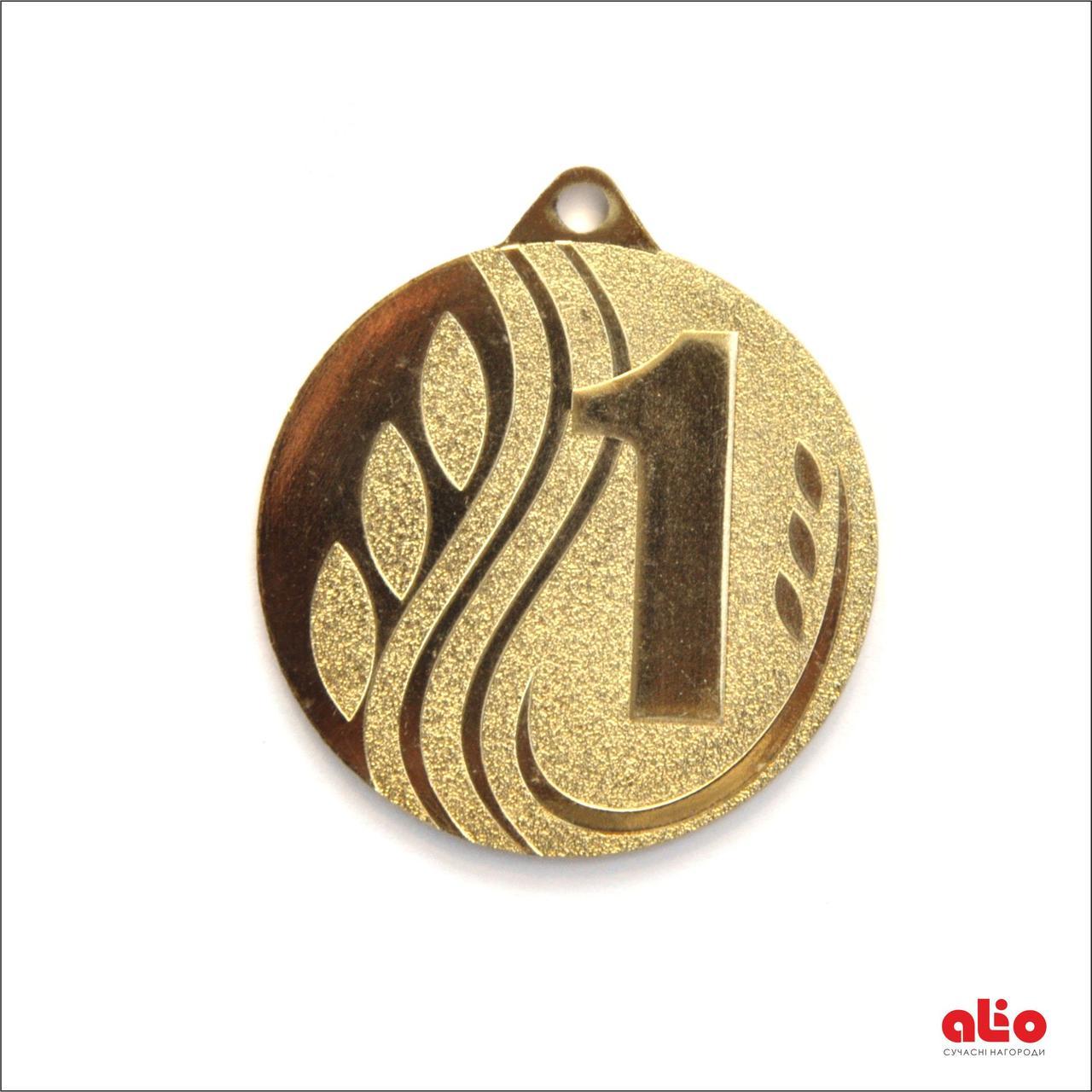 Медаль Д256 золото 60 мм