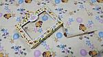 Дитячий комплект постільної білизни , бязь Вінні жовтий., фото 3