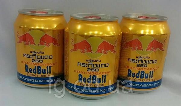 Red Bull (Тайланда) Оригинал, Энергетический напиток