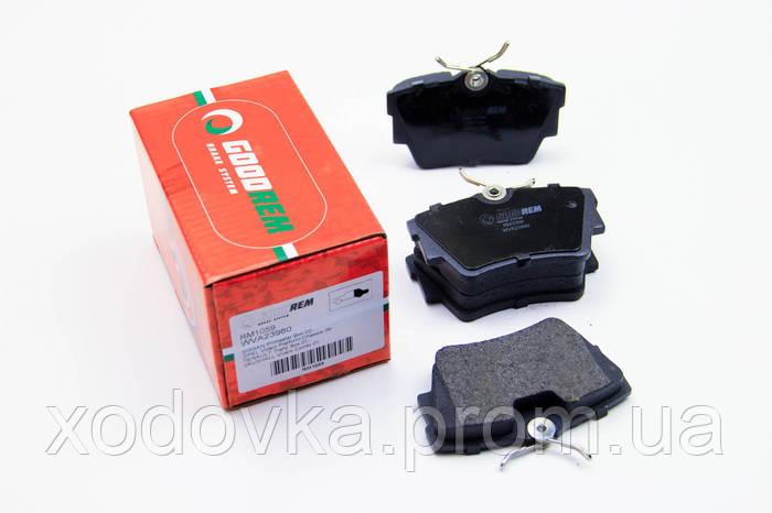 задние тормозные колодки на фольксваген транспортер т4